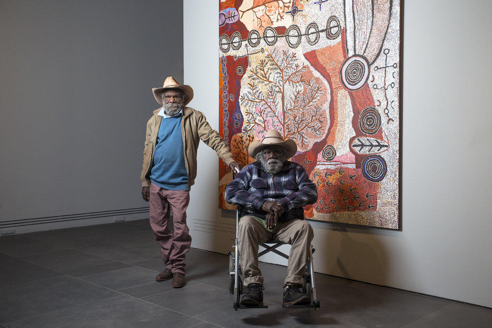 Peter Mungkuri and Alec Baker for Tarnanthi : Festival of Contemporary Aboriginal & Torres Strait Islander Art 2017  Art Gallery of South Australia