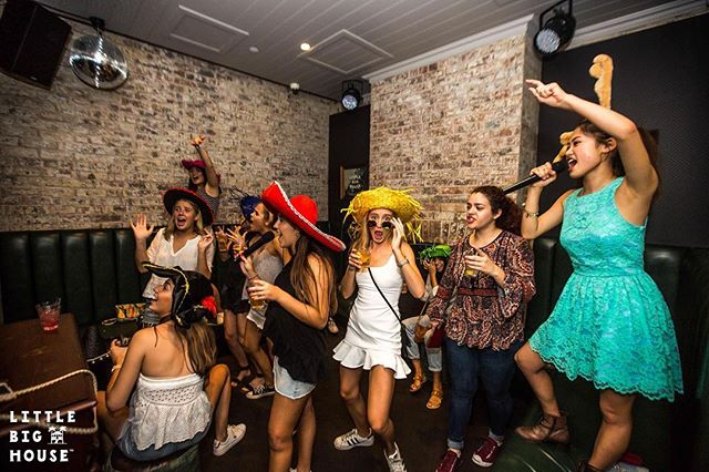 FREE karaoke, yes you read right. Because nothing kickstarts your night like belting out Wonderwall. For more details head to our website #littlebighouse #karaoke #free #partay