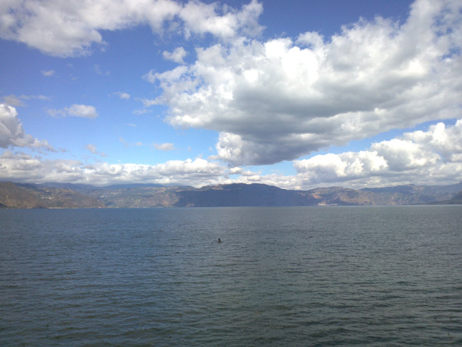 Lago Atitlan Boatman