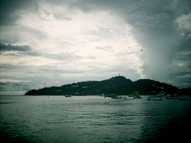 Brooding climates... Port of San Juan del Sur, Nicaragua