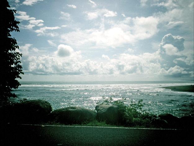 the sea at quepos
