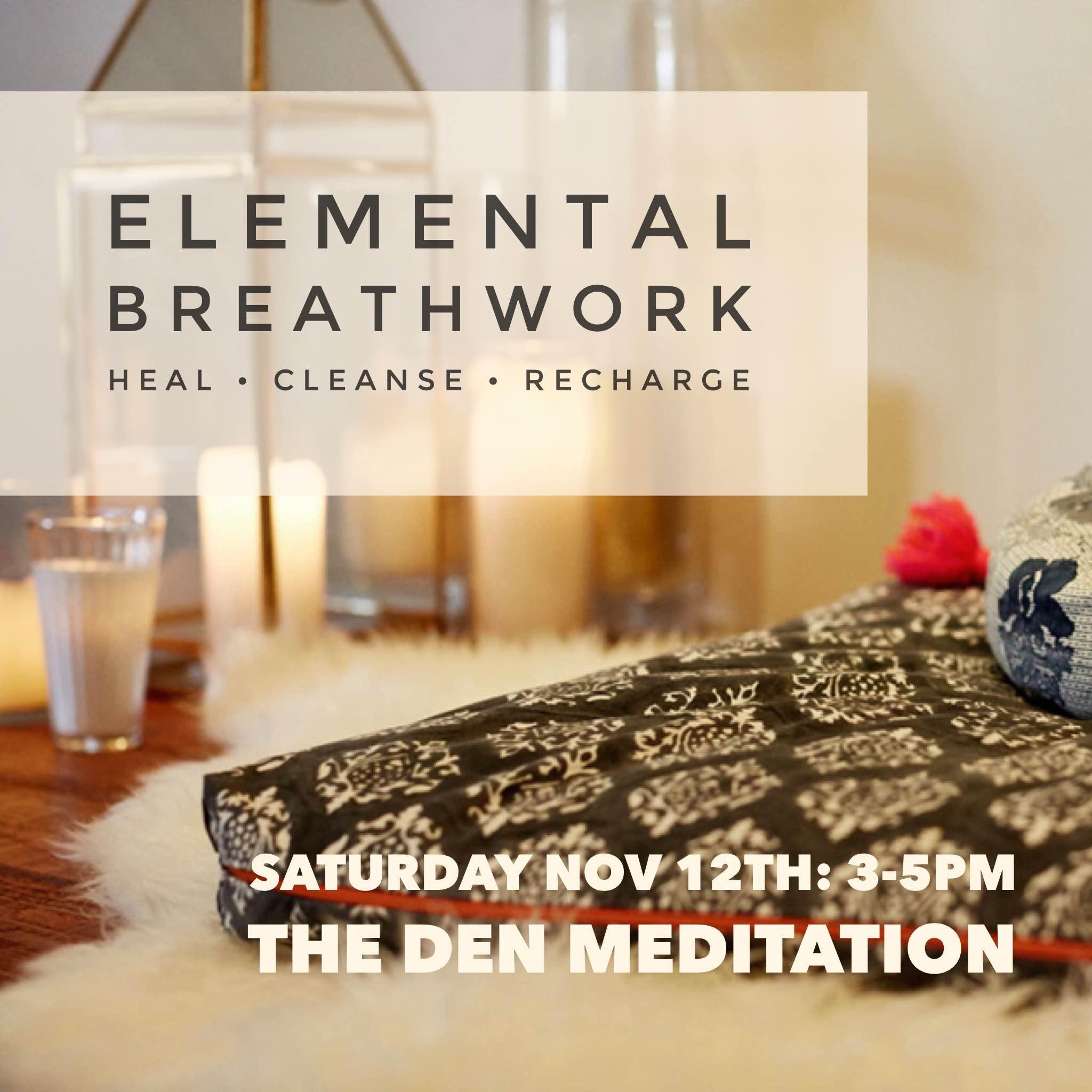 breathwork at the den meditation hollywood