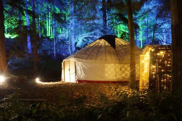 Enchanted forest yurt, California yurts, yurt camping, yurt glamping