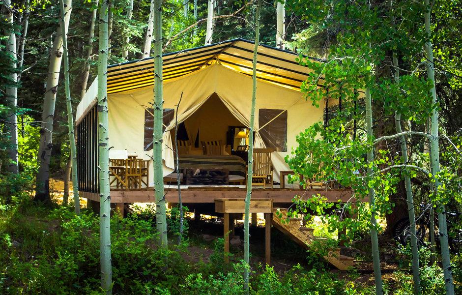 Dunton River Camp, glamping Colorado, Colorado camping destinations, Colorado glampsites