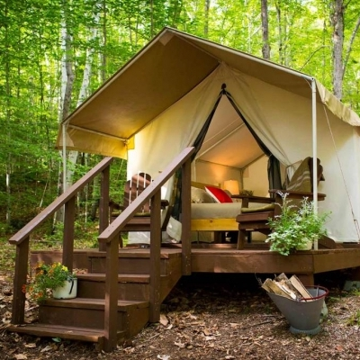 best fall camping, best fall glamping, North America glamping, US glamping