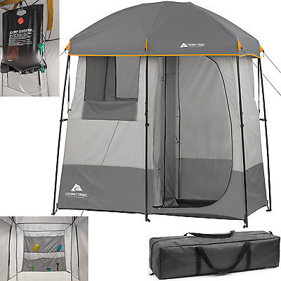 2 room shower tent, best shower tent, ozark trail shower utility shelter, shower tent walmart, shower tent amazon, double shower tent,