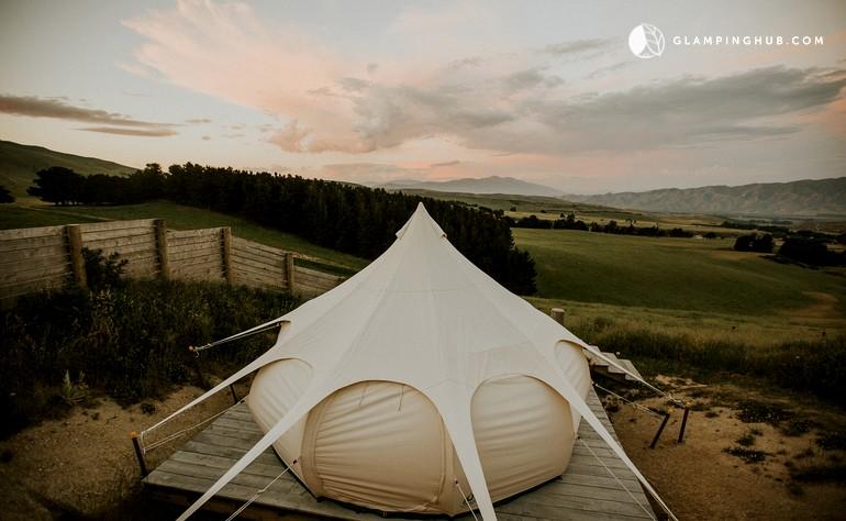 New Zealand camping, New Zealand glamping, Otiake camping