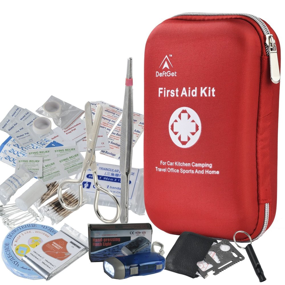 DeftGet 163-piece First Aid Kit  -- $14.99