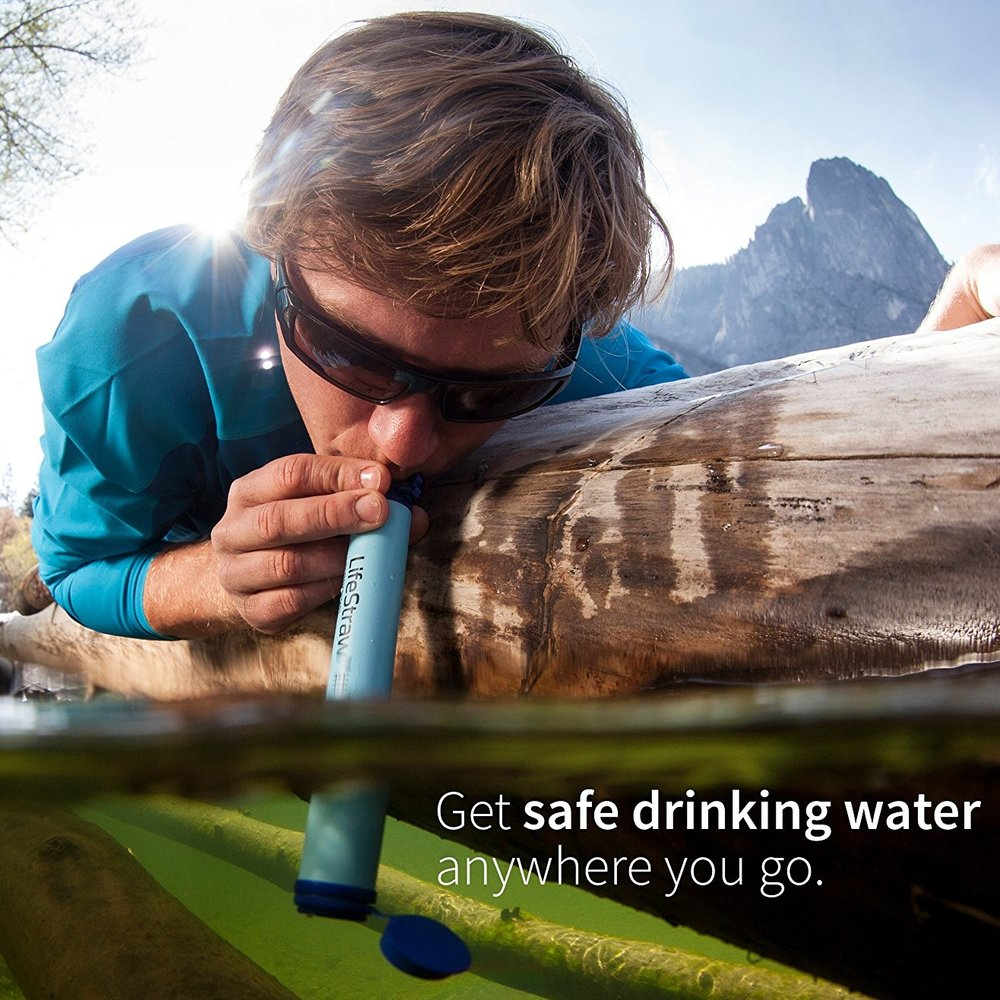 Life Straw Water Filter  -- $14.99