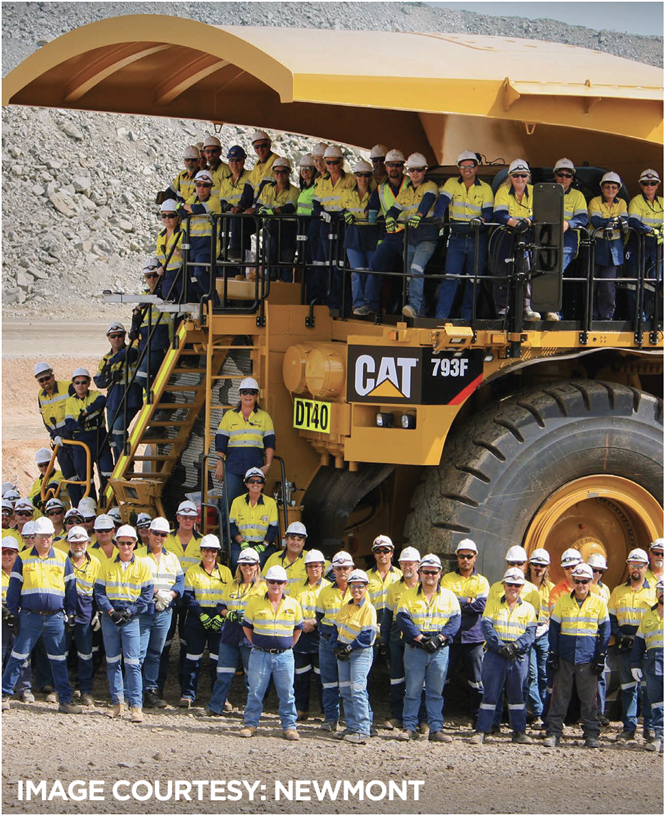 Newmont | Chamber of Minerals and Energy WA | CME | Jobs First For WA