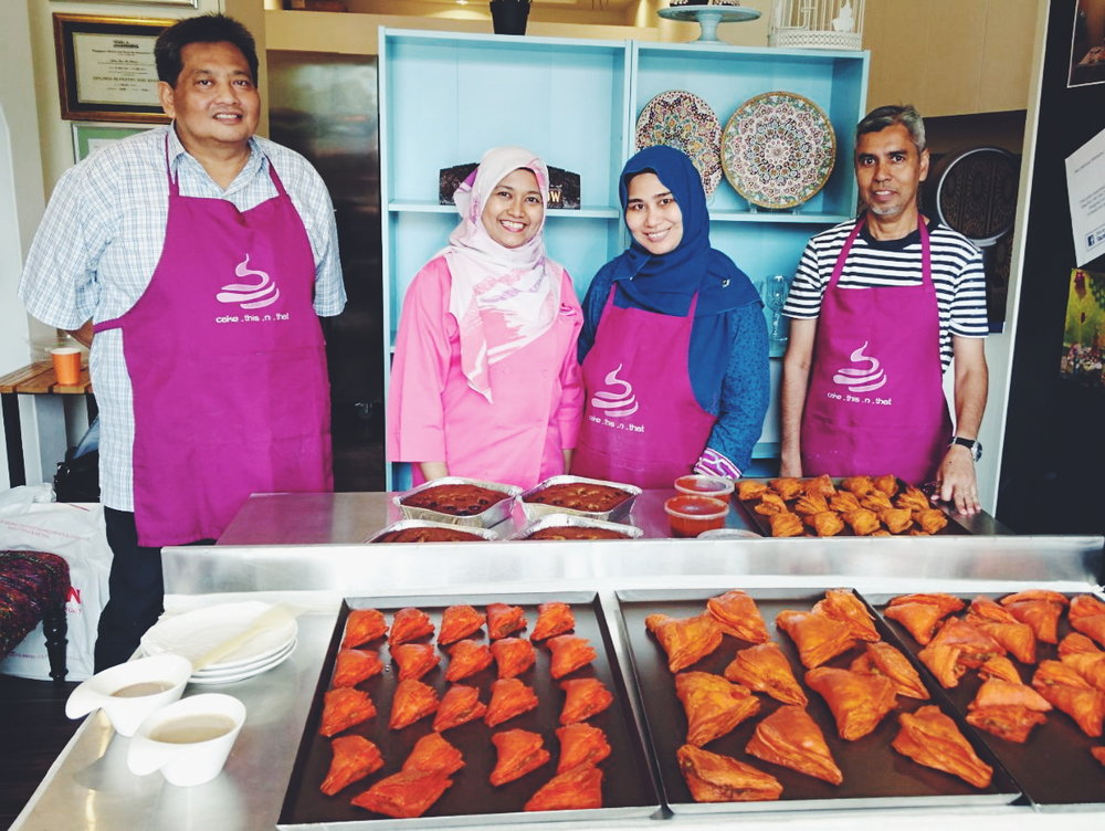 Do you have passion for baking in Singapore ?