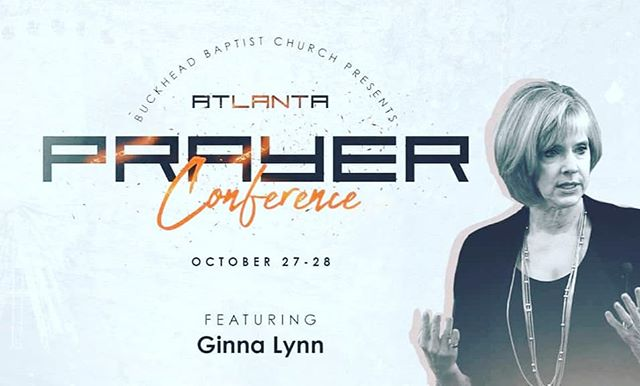 We are excited to announce #AtlantaPrayerConfrence