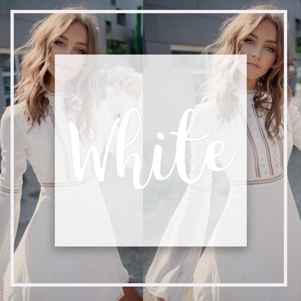 White สีขาว - · ตัวตนของคุณคุณเป็นคนที่ค่อนข้างเรียบร้อย และมีลักษณะไม่มีพิษภัย คุณเป็นคนที่มีทัศนะคติกว้างไกล คุณจะมองโลกในแง่ดีเสมอ เพราะคุณเป็นคนที่จิตใจดี· ความปรารถนาของคุณ