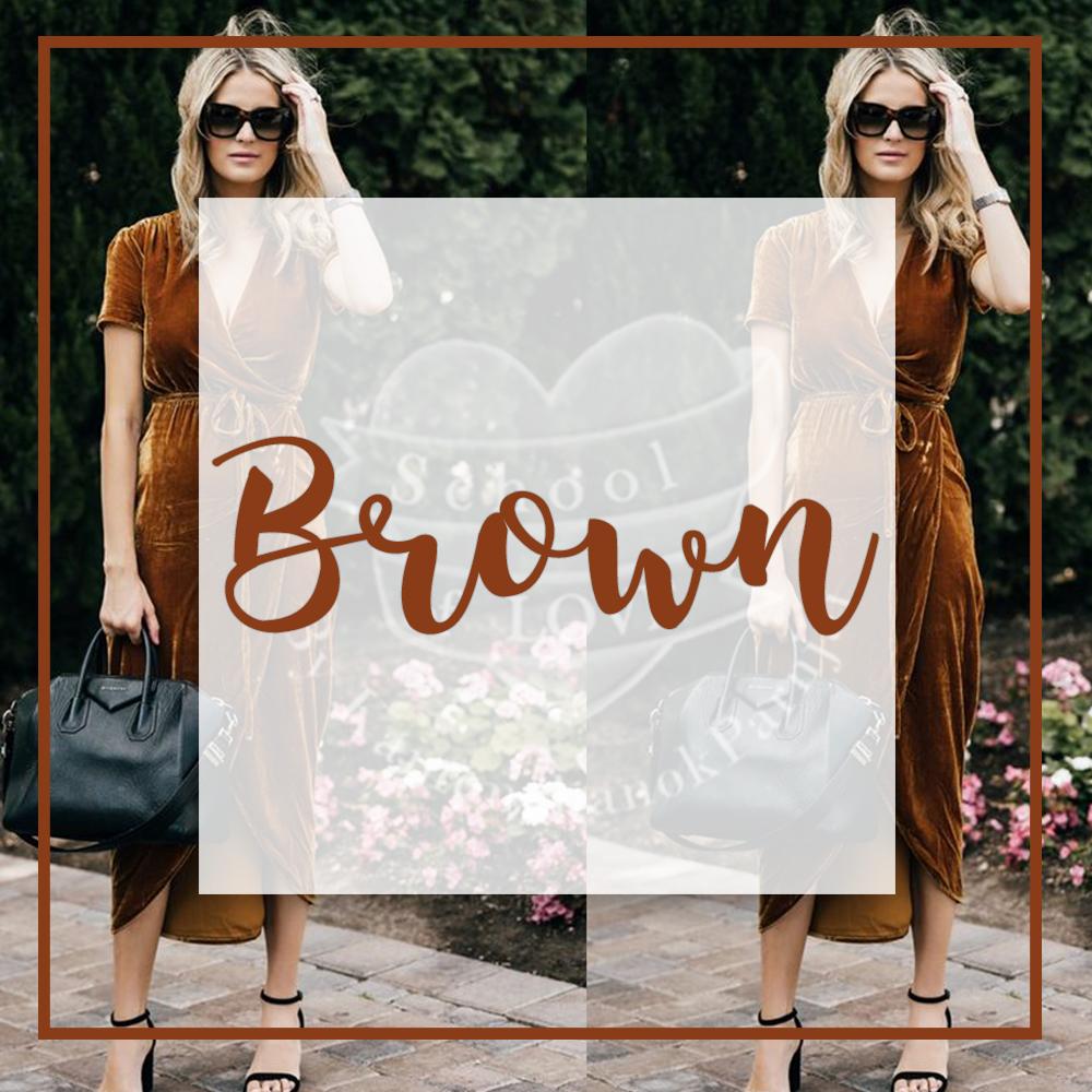 Brown สีน้ำตาล - · ตัวตนของคุณคุณเป็นคนที่มีความซื่อสัตย์ เป็นคนติดดินและจิตใจดี· ความปรารถนาของคุณความปลอดภัย ชีวิตความมั่นคงที่แสนจะธรรมดา และการใช้ชีวิตสบายๆ
