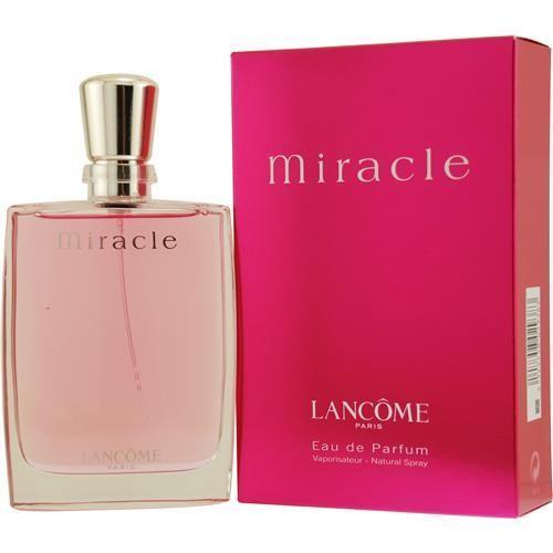 Lancome Miracle Eau De Parfum Spray - น้ำหอมแบรนด์ดังอย่าง Lancome รุ่น Miracle ด้วยกลิ่นหอมที่ให้ความรู้สึกที่สดชื่น มีความหอมหวานปนความไฮโซโก้หรู เหมาะกับหญิงสาวที่ต้องการความโดดเด่นเป็นตัวเอง แถมยังมีกลิ่นหอมโดดเด้งโดนใจหนุ่ม ๆ อีกด้วย ราคาประมาณ 2,500-2,700 บาท