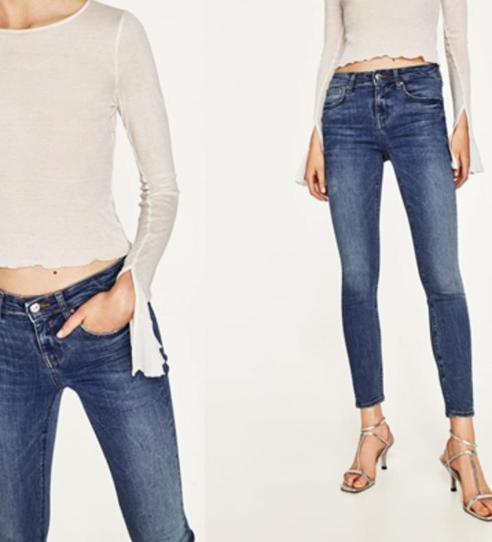 กางเกงยีนส์ สกินนี่ - ไอเท็มอินตลอดกาลจริงๆกับกางเกงยีนส์สกินนี่ ไม่ว่าจะใส่กับอะไรก็ดูสวยลองเลือกที่เป็นแบบเอวสูงดีกว่า เพราะจะทำให้ขาของสาวๆดูยาวด้วย