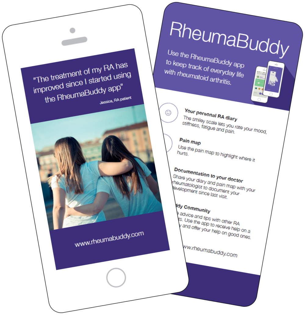 RheumaBuddy Flyers for Patients