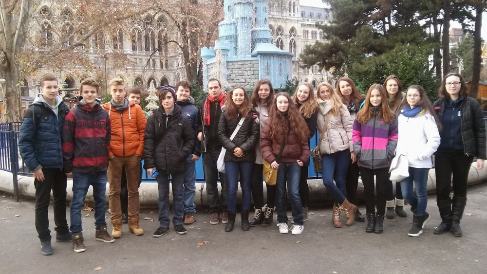 A SCHOOL TRIP TO VIENNA