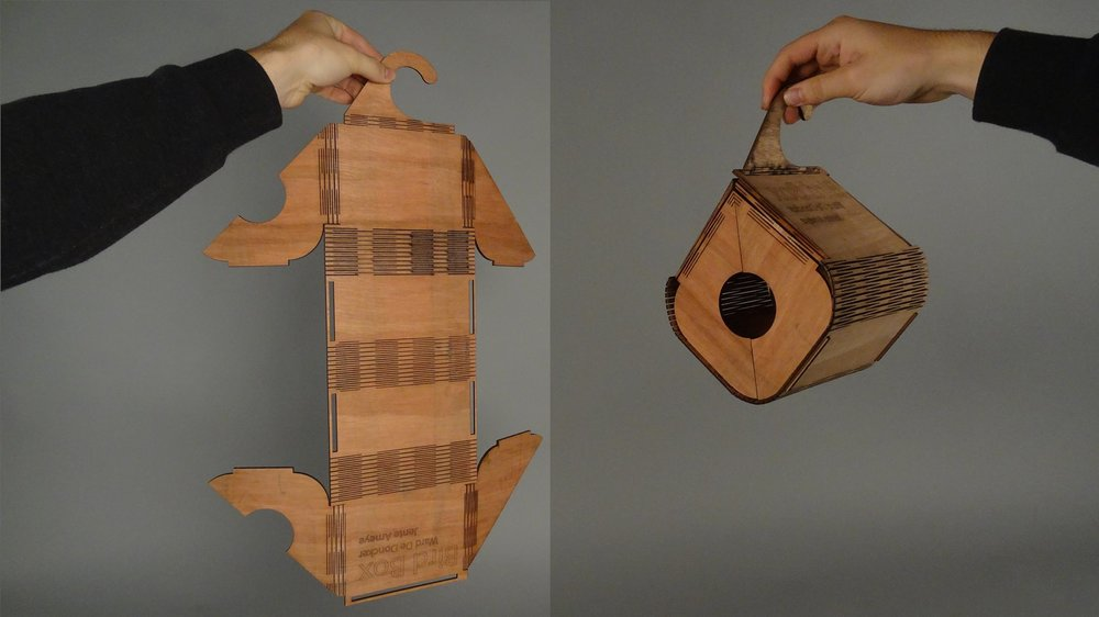 BENDABLE BIRD BOX