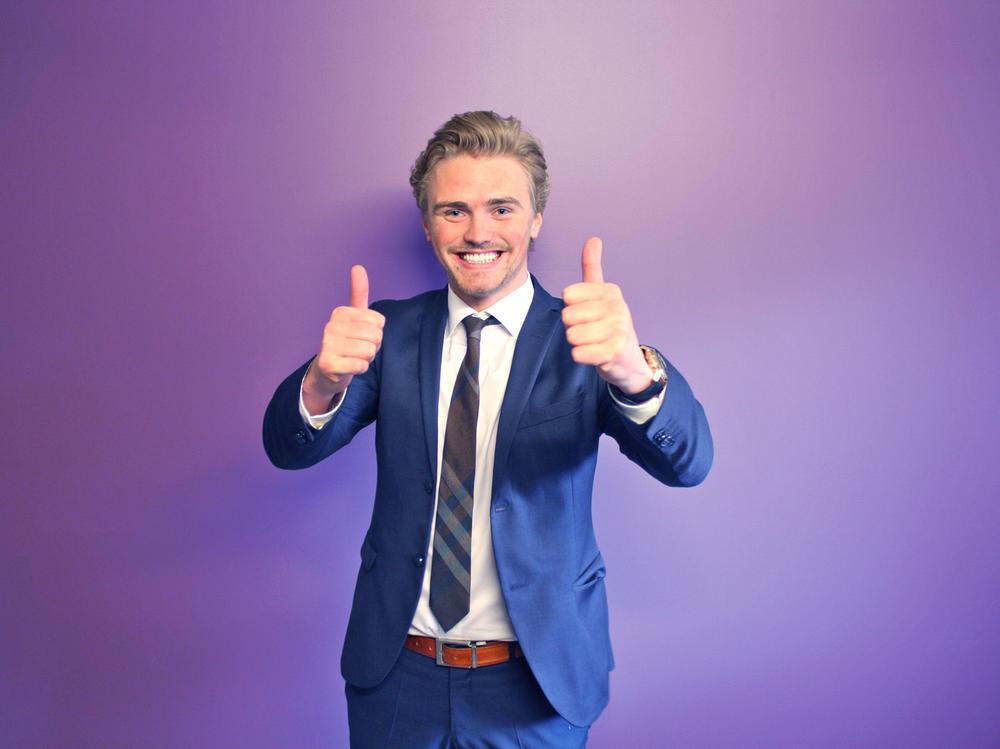 Dan Mario Røian - Røian grunnla for ni år siden HMS- og salgsbedriften Grønn Jobb og har svært god erfaring med rekruttering av mennesker. Jyb ble etablert for et år siden og har blitt omtalt som «Tinder» for jobbmarkedet.