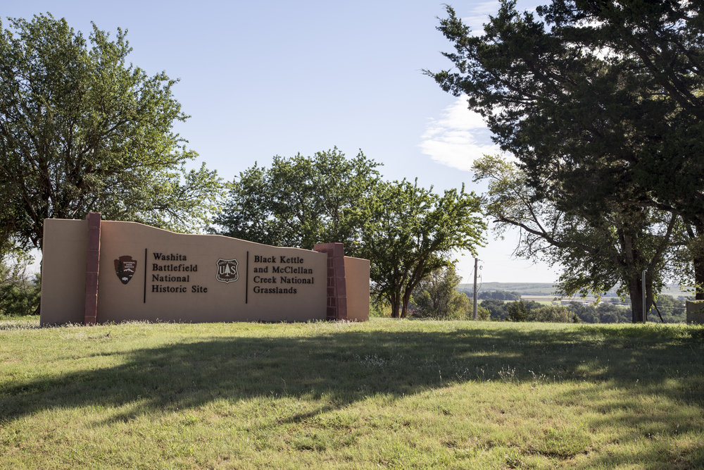 Washita Battlefield National Historic Site in Roger Mills County By  Neurosynthetic  - Own work