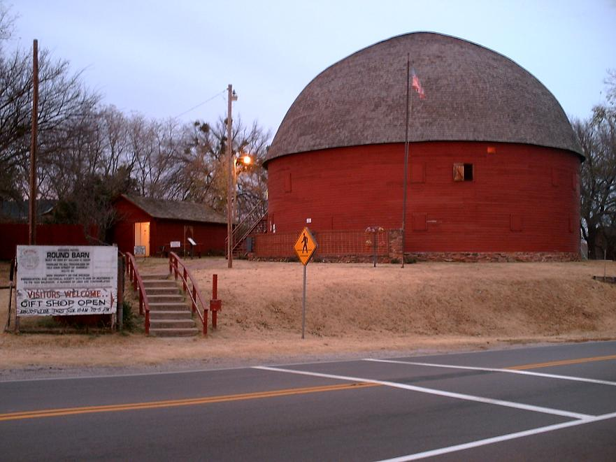 Arcadia Round Barn   By DBinfo at en.wikipedia - Transferred from en.wikipedia, Public Domain, https://commons.wikimedia.org/w/index.php?curid=4015888