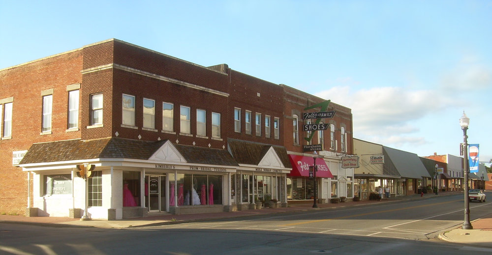 Downtown Tahlequah, OK  © Caleb Long