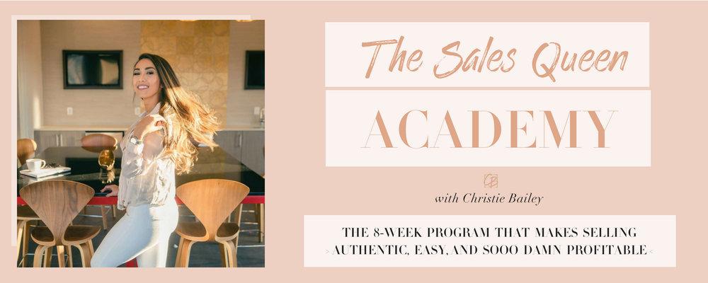 The Sales Queen Academy
