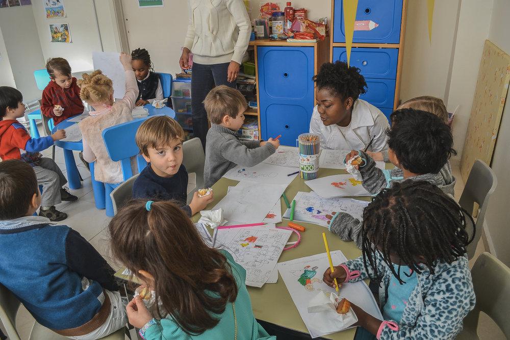 ENFANTS : Activités le dimanche matin visant à enseigner et encourager les enfants de tout âge
