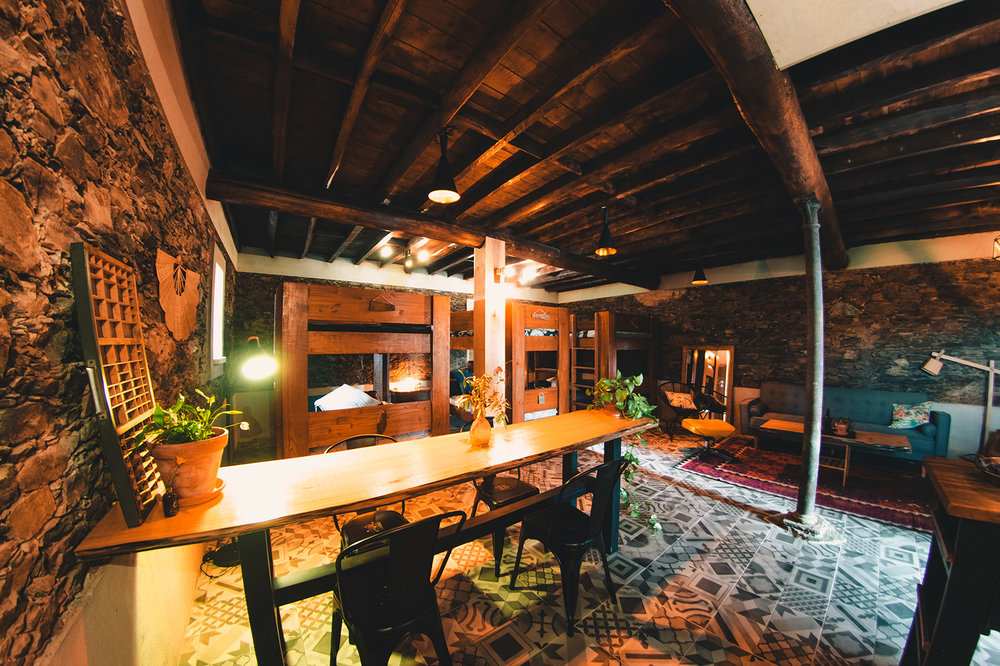THE BUNKHOUSE IN THE CONVERTED WINE CELLAR
