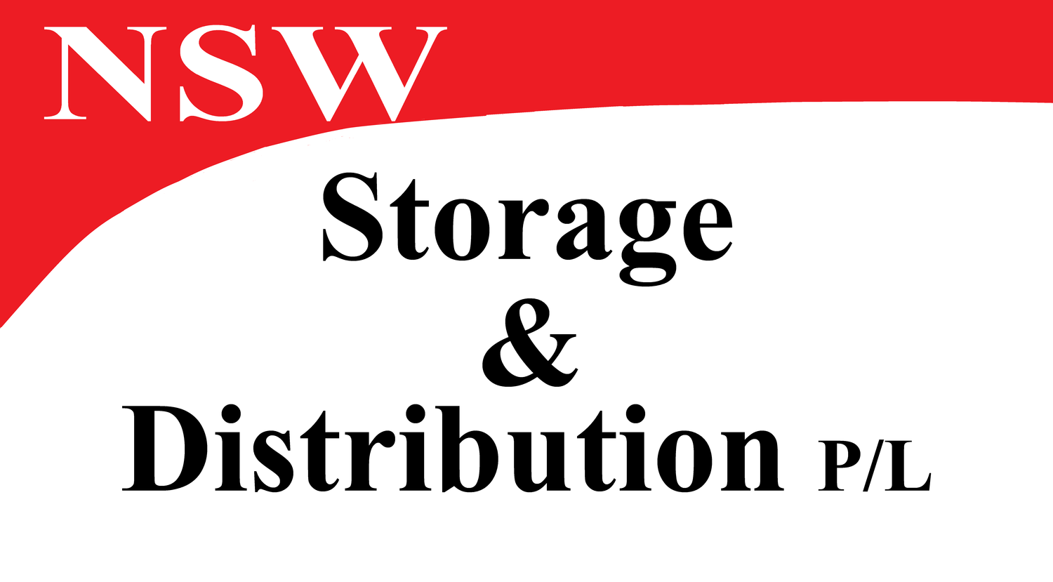 NSW Storage and Distribution