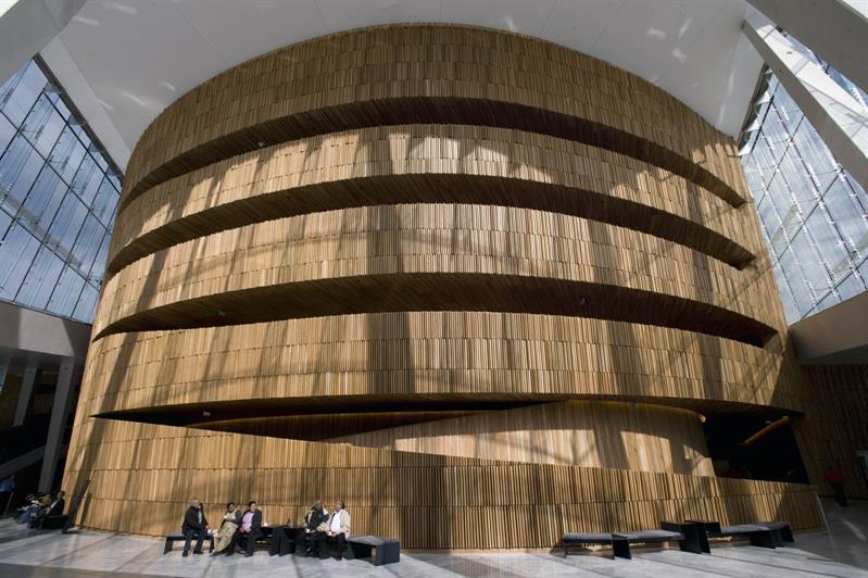 歌劇院內部(圖片來源:VisitOSLO/Erik Berg)