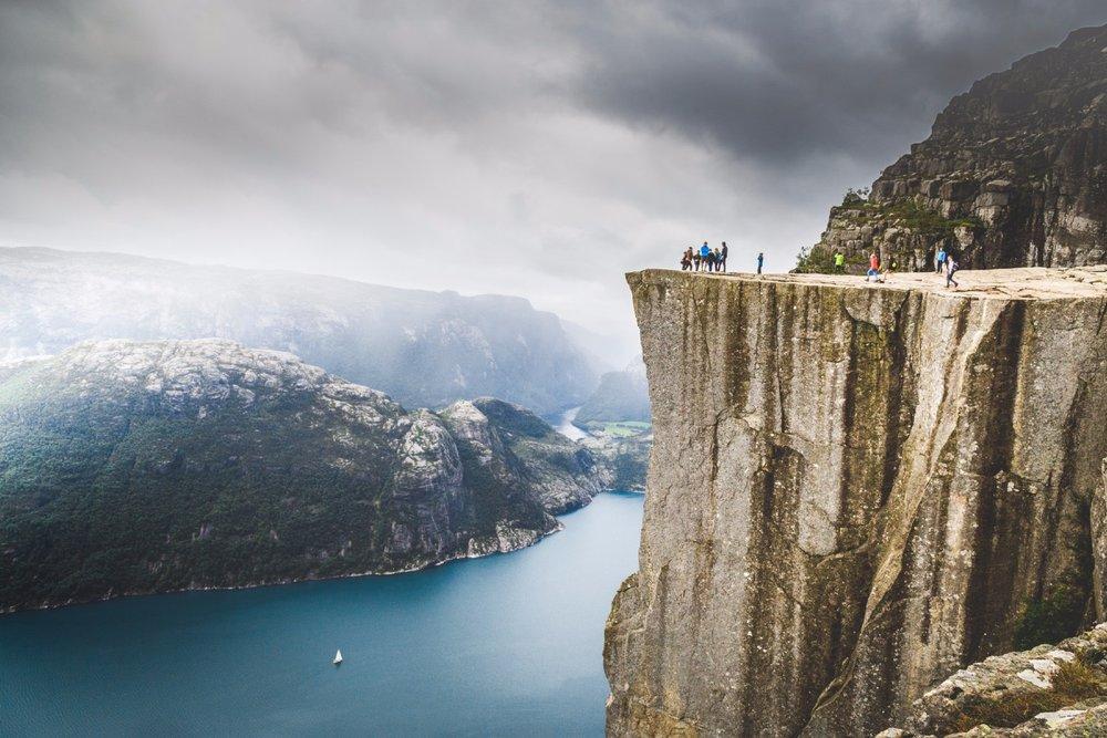 天氣不太壞的時候還可眺望峽灣遠方(圖片來源: Ihor_Tailwind/Getty Images)