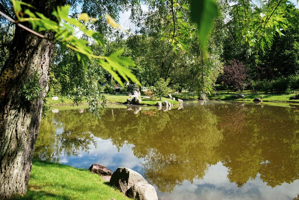 這個公園佔地甚廣,不知道是否大有名堂,還是愛沙尼亞的公園通通都是維園般的規模。
