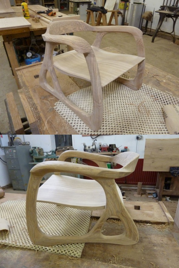 The finished Baby Chair - before oiling