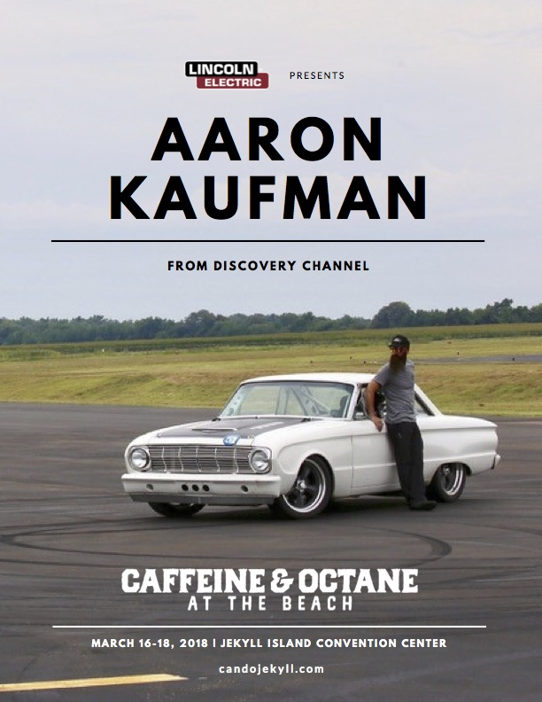 Aaron Kaufman Will Be At The Beach THE FORGED INVITATIONAL - Jekyll island car show