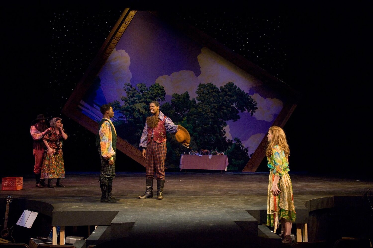 Photo of Daniel Tolbert from UNC Charlotte Department of Theatre