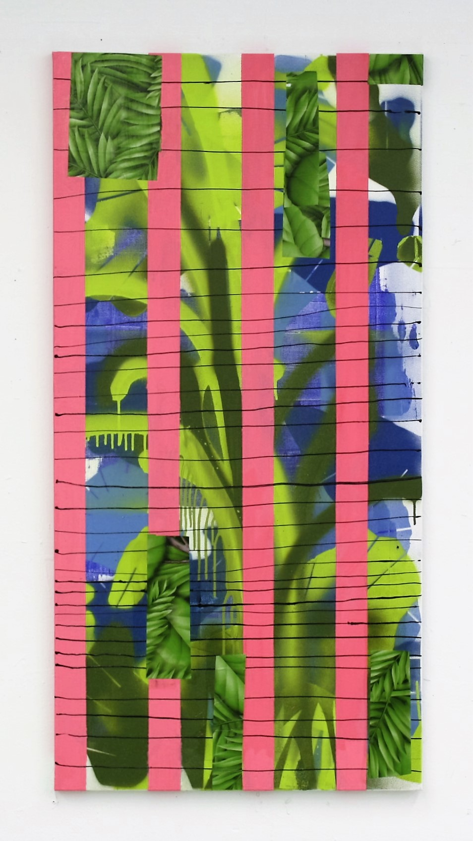 Fresh and sweet II_Mixed media in canvas_48 in x 24 in_2016.JPG