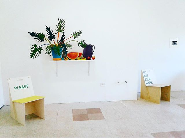 There's a seat waiting for you at #GrandArmyCollective. #RirkritTiravanija #DanielGordon #JohnBaldessari #onestarpress #ThreeStarBooks