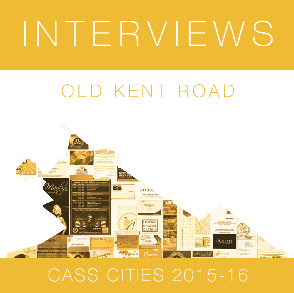 Old Kent Road Business Interviews 2015/16