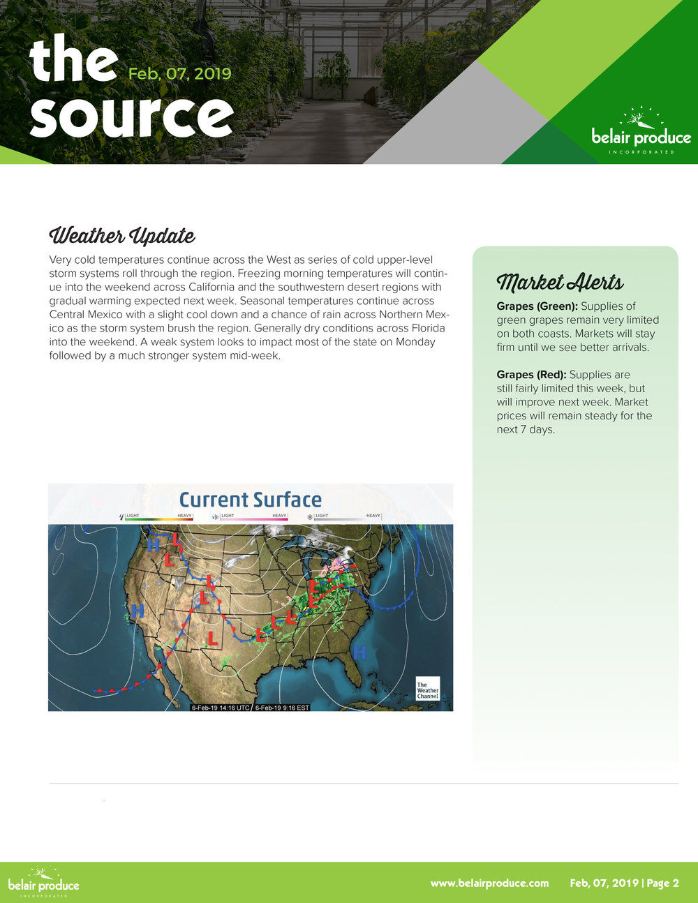 The Source Feb 9th -