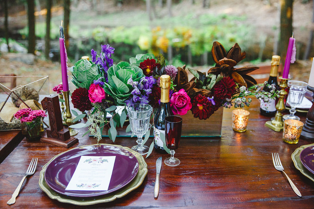 RentedGatherings_LuxuryDecorRental_BohemianWoodsWedding
