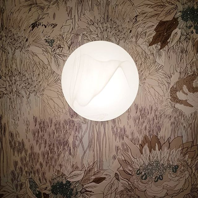 Detalle Lo Spuntino-Arboleda #light #wallpaper #restaurantdesign @tres_tintas_barcelona