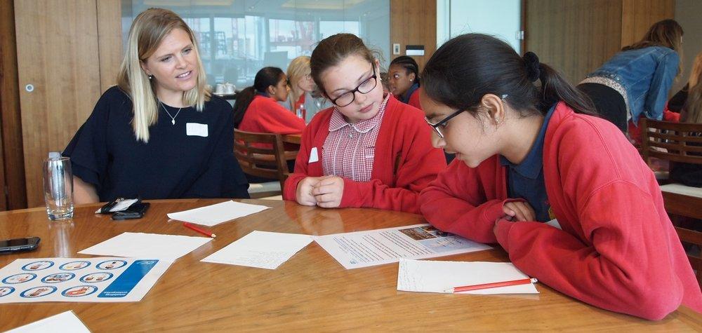 Shaftesbury Primary School Practice Essential Skills at Hogan Lovells.JPG