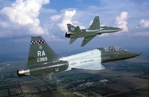 Northrop T-38C Talon  Credit: Northrop Grumman