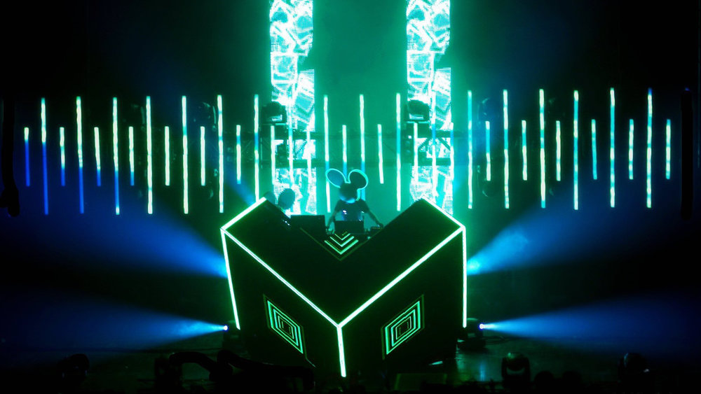 Deadmau5 - Coachella Cube Show Tour Visuals