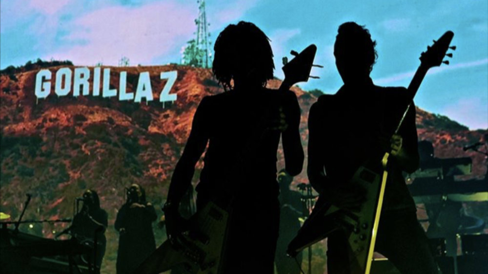 Gorillaz - Hollywood - Tour Visuals