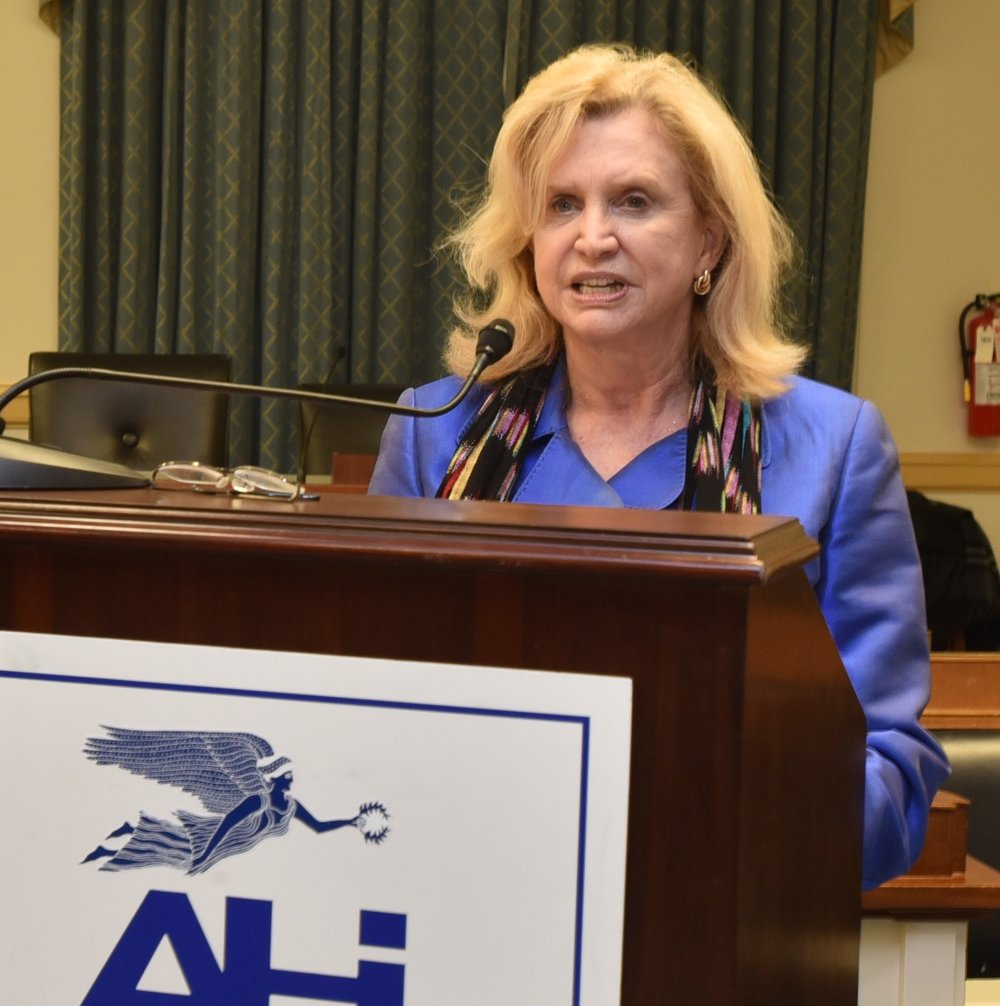 Rep. Carolyn Maloney, Congressional Hellenic Caucus co-chair (NY-12).