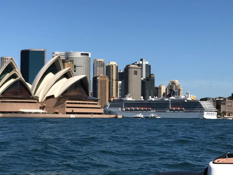 View of the world famous Sydney Opera House