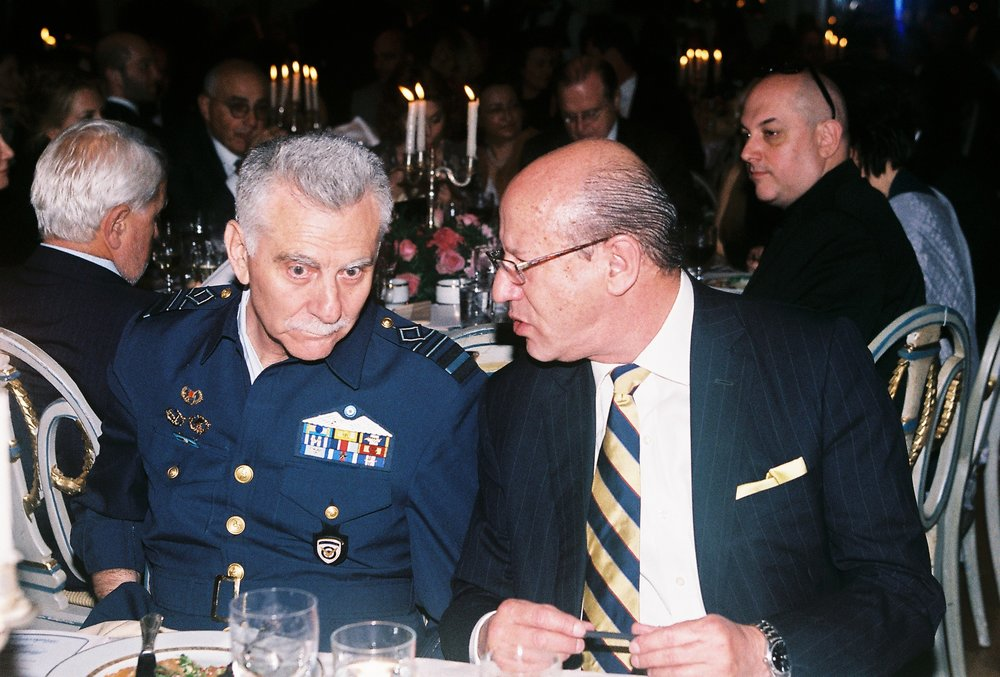 Lt. General Christos Christodoulou, Chief of the Hellenic Air Force General Staff, Constantine Galanis